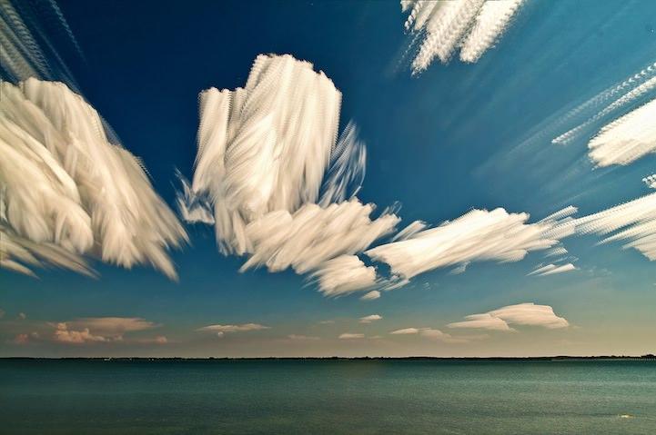 Time-lapse-wolken