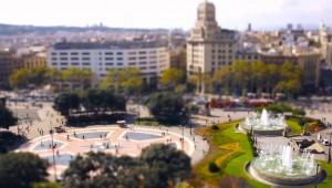 Barcelona in het klein