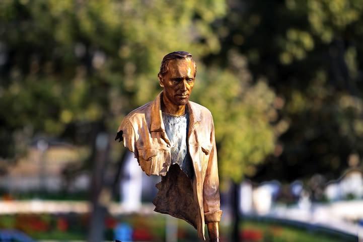 Standbeeld Bruno Catalano