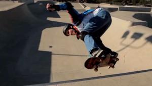 Blinde skateboarder inspireerd sporters
