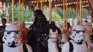 Darth Vader bezoekt Walt Disney