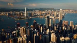 De stad Hong Kong