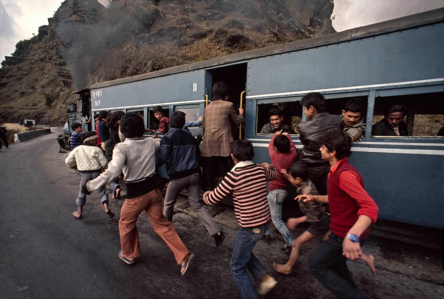 Treinen in India
