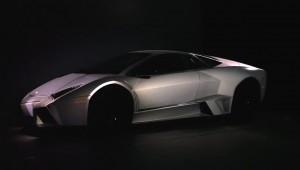 Lamborghini als projectiedoek