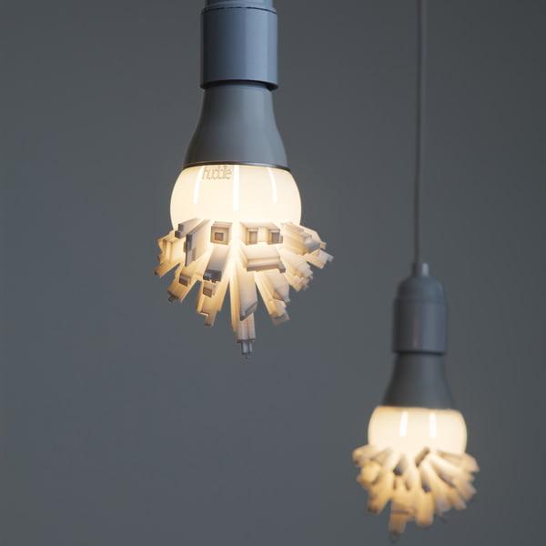 Wolkenkrabberlampen