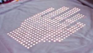 Programmeerbaar t-shirt
