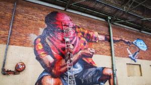 Graffiti in hoog tempo