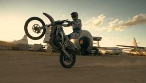 Verbazingwekkende motorcross-skills