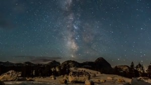 Melkweg zien met het blote oog