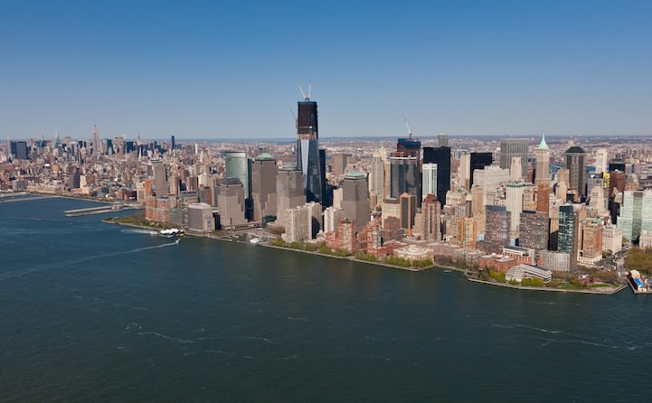 New York toen en nu
