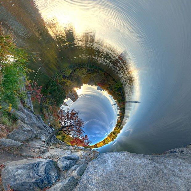 Cilindervormige wereld