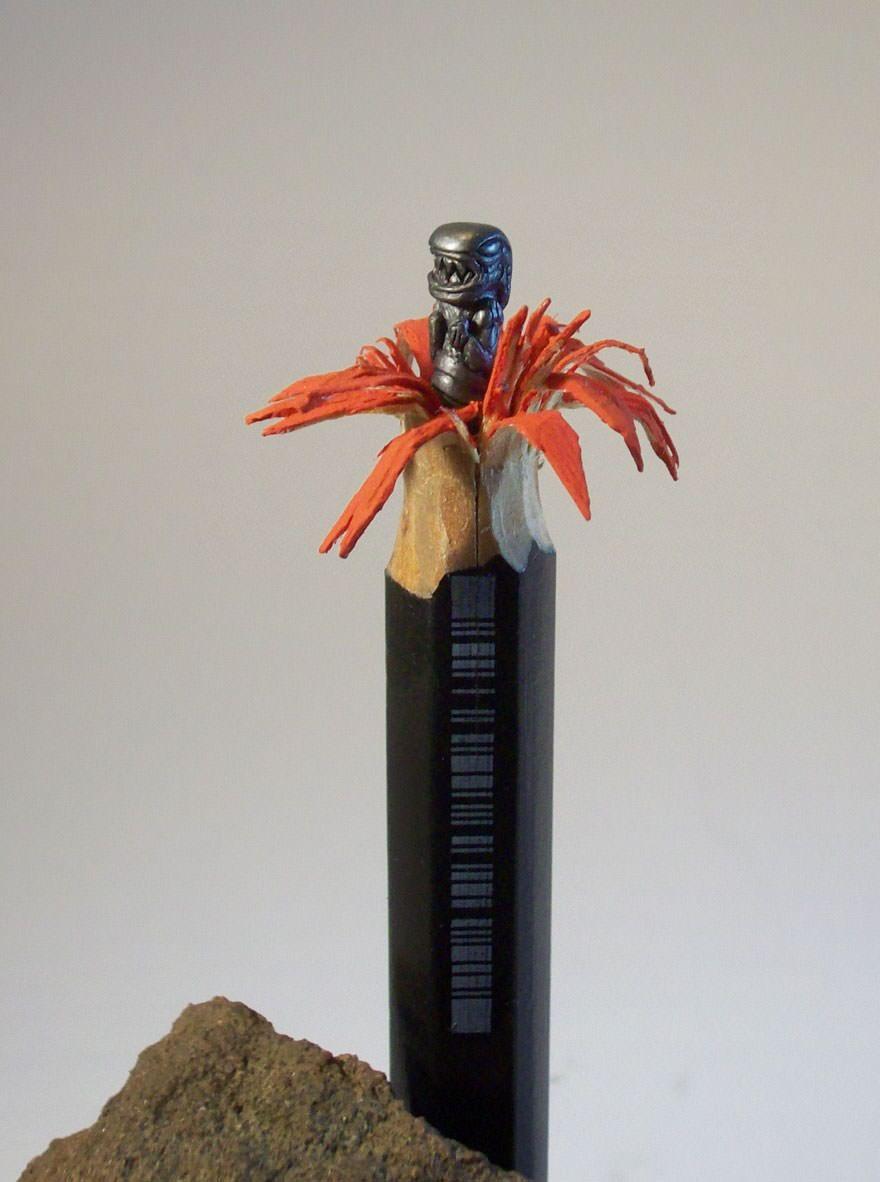 Potloodsculptuur