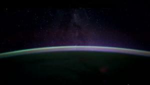 Time-lapse beelden vanuit de ruimte