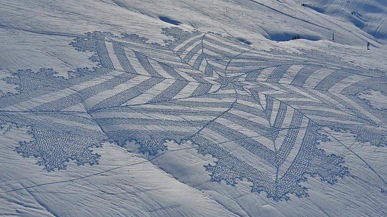 Sneeuwkunst