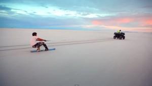 Zoutboarden in Utah