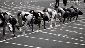 De onverslaanbare zwarte atleet