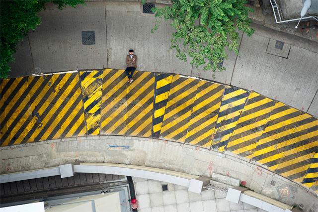 Straten van Hong Kong in 2D