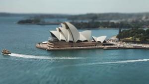 Sydney in het klein