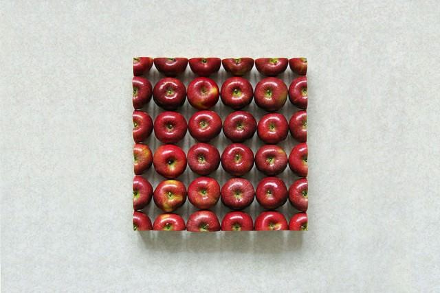 Groenten- en fruitcompositie