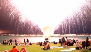 Kortste vuurwerkshow ooit