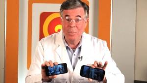 iPhone 5 vs Galaxy S3 in de blender