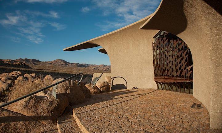 Organische woestijnvilla