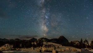De Melkweg zien met het blote oog